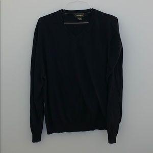 V-neck XXL navy sweater